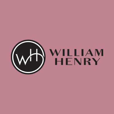 william henry Square pink